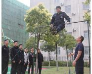 随州特警苦练本领提升队员的综合素质和实战水平