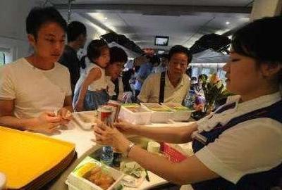 高铁餐饮将在网上明码标价 正在进行技术准备