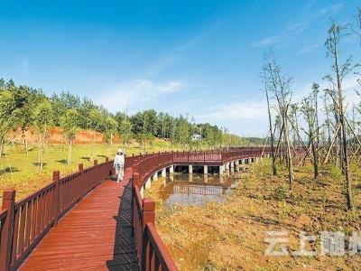 漂水湿地公园建成后将成为随州休闲观光的新亮点