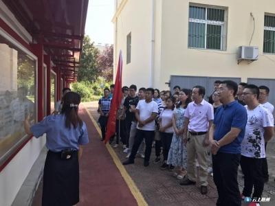 市城投公司职工赴广水市人民检察院开展廉政警示教育