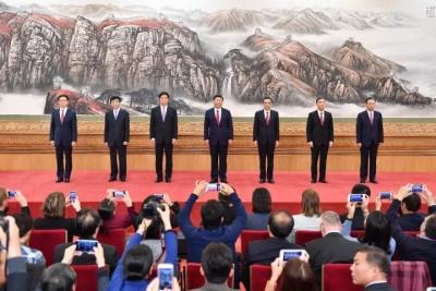 新一届中共中央政治局常委同中外记者见面,习近平总书记讲话(实录)