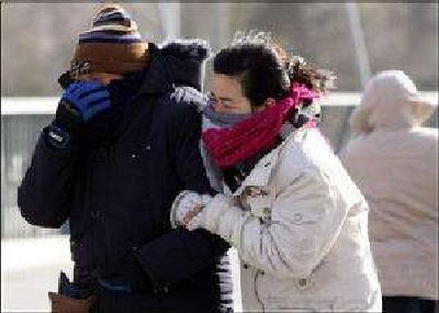湖北发布下半年首个寒潮预警 局地或出现雨雪天气