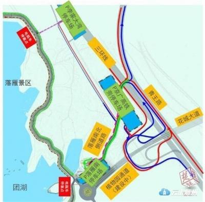 东湖赏花踏青高峰来临,东湖交警5个单循环措施教您如何避堵!