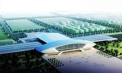 光谷火车站明年春节前竣工 实现多种交通方式