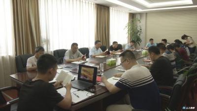 曾都区委办举行机关支部主题党日活动