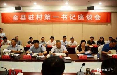 驻村帮扶再发力,随县召开驻村第一书记座谈会