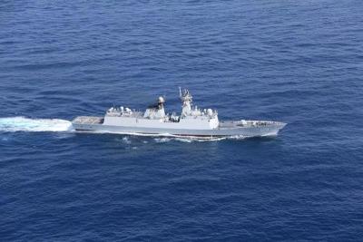 """""""大洋一号""""完成第一航段科考任务 海上作业48天"""