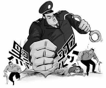 """暴力手段垄断建筑市场 随州一""""黑老大""""获刑15年"""