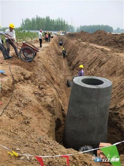 广水全面擂响13个污水处理厂建设战鼓