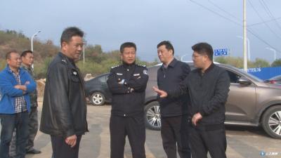 黄继军调研道路交通安全和环境保护工作