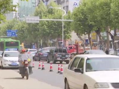 城管部门启动烈山大道(中段)临街立面包装改造项目建设