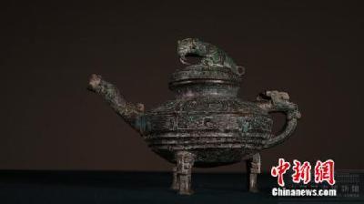 """回家了!曾在英国被拍卖的青铜""""虎鎣""""入藏国博"""
