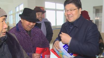 黄继军到广水市社会福利中心看望慰问老人儿童