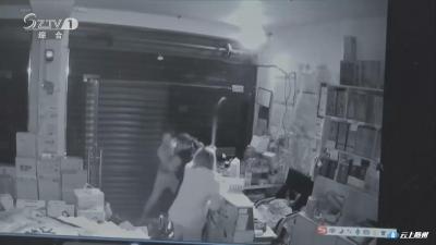 男子深夜入室盗窃  惊醒店主夫妇被擒