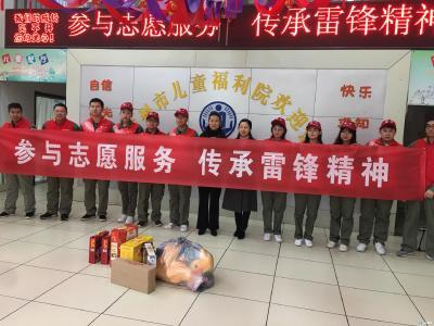 """随州市儿童福利院儿童学做""""小小志愿者"""""""