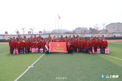 """随县农村公路管理局开展  留守儿童""""守护行动""""志愿服务活动"""