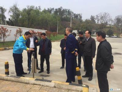 李国寿带队检查安全生产工作