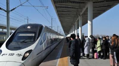 五一期间,随州火车站发送旅客4万余人次