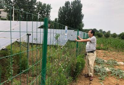 小林镇光伏产业助推村级经济起飞