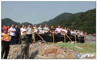 鄂旅投集团在大洪山开展安全生产现场会
