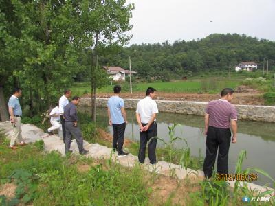 市农业农村局开展漳水河6月巡河活动