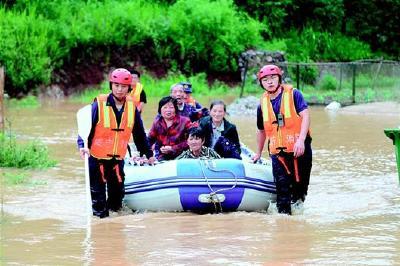入汛后湖北强降雨致126.18万人受灾 武汉市城市排渍Ⅲ级应急响应昨晚解除
