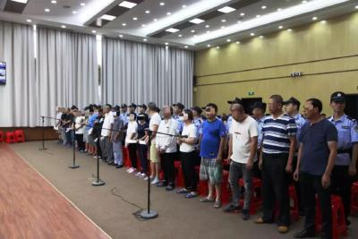 曾都区人民法院公开开庭审理一起21名出租车司机涉嫌聚众扰乱社会秩序、寻衅滋事案