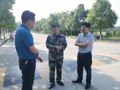 黄继军等领导看望慰问广水市人武部专业分队民兵
