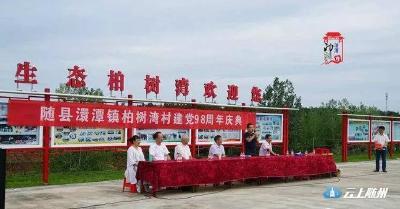 """随县澴潭镇柏树湾村""""庆七一""""活动精彩纷呈"""
