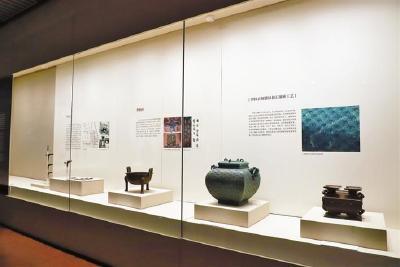 """""""曾国700年""""青铜器在深圳展出"""