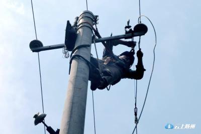 万和镇遭遇龙卷风袭击!随县供电公司连夜抢修确保供电