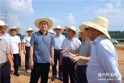 陈瑞峰调研河长制落实情况强调 加强河道采砂管理 有效修复河道生态