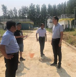 陈兴旺督查城镇污水管网建设情况