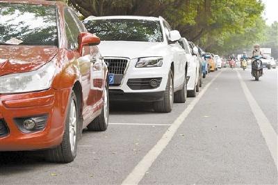 随州市划管并重提高停车位使用率