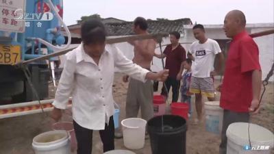 吴山镇金成村:洒水车客串送水车 助抗旱