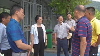 郭永红到西游记漂流开展安全检查强调  严守安全底线 确保游客安全