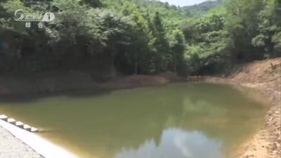 大洪山村:建蓄水池引泉水 解决村民用水难