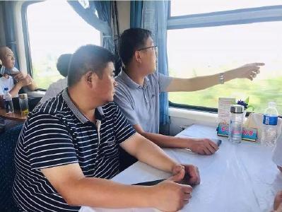 陈兴旺督办铁路沿线环境整治工作
