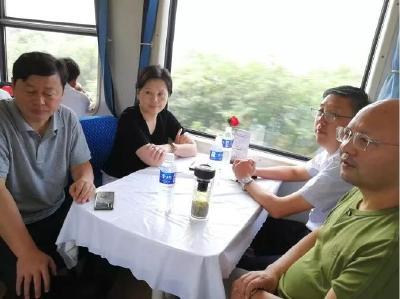 毕道丽、陈兴旺督办随县铁路沿线环境整治工作