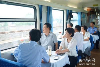 陈瑞峰检查铁路沿线环境整治提升工作强调 坚持高标准高效率高质量 把铁路沿线打造成亮丽风景线
