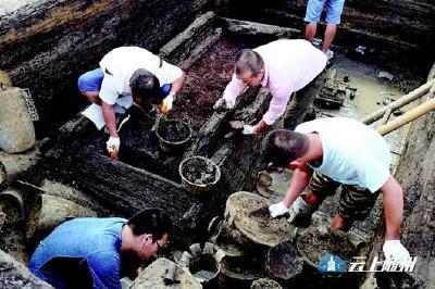"""图文:湖北考古界""""挖出""""一部曾国史"""
