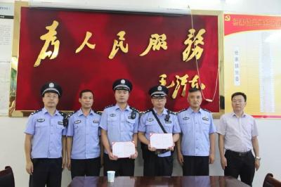 广水民警成功解救一女子,随州公安一线送奖鼓干劲!