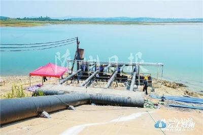 建泵增压保城区供水