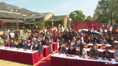 2019随州醉美桃源柿子文化旅游节开幕