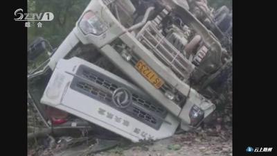 为避免发生车祸  货车司机黄海滨车毁人受伤