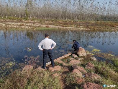 市农业农村局组织开展10月份漳水河巡河工作