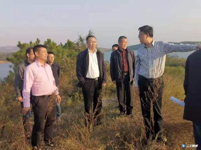 陈兴旺调研鄂北水资源配置工程配套项目建设