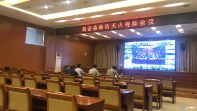 随县举行森林防灭火视频会议