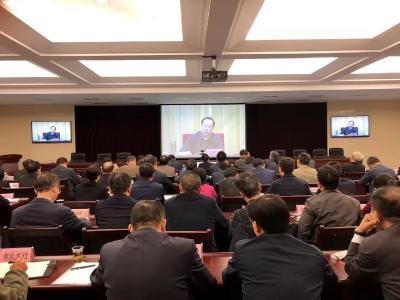我市收听收看全省三季度经济运行调度会议 郭永红等在随州分会场参加收听收看