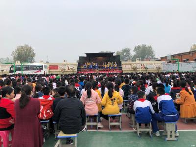 """""""文化惠民""""送戏进校园活动走进淅河镇云龙小学"""